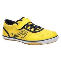 BS700 Kids' Badminton Shoes - Yellow/Blue