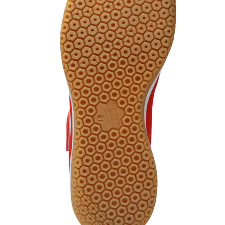 BS730 JR Kids' Badminton Shoes - Merah