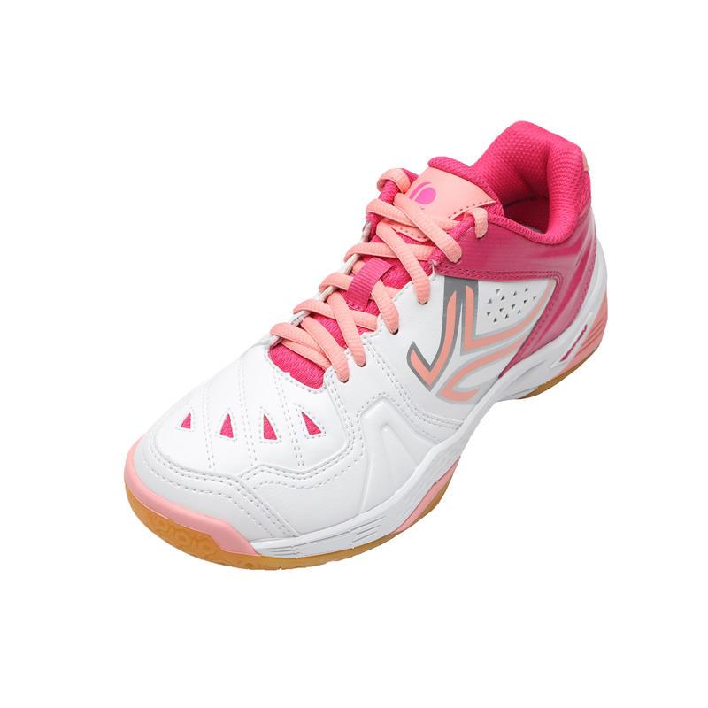 BS800 JR Kids' Badminton Shoes - White/Pink