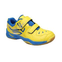 BS800 KD 兒童羽毛球運動鞋 - 黃色/藍色