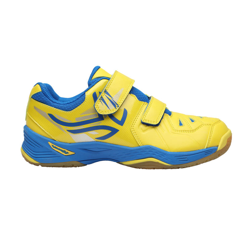 BS800 KD Kids' Badminton Shoes - Yellow/Blue