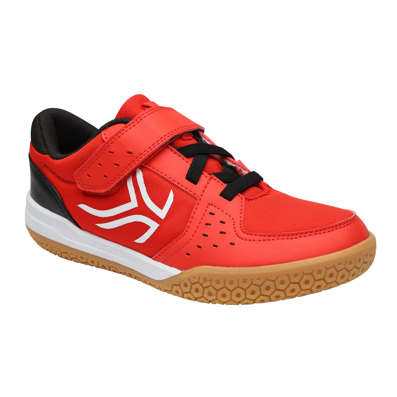 Artengo Badmintonschoenen voor kinderen BS730 rood