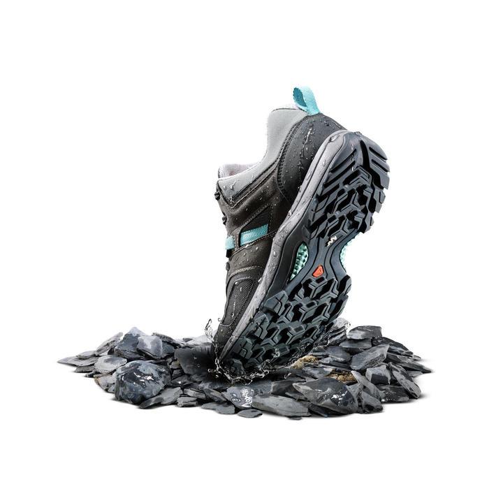 Chaussures de randonnée montagne femme MH100 imperméable - 1254758