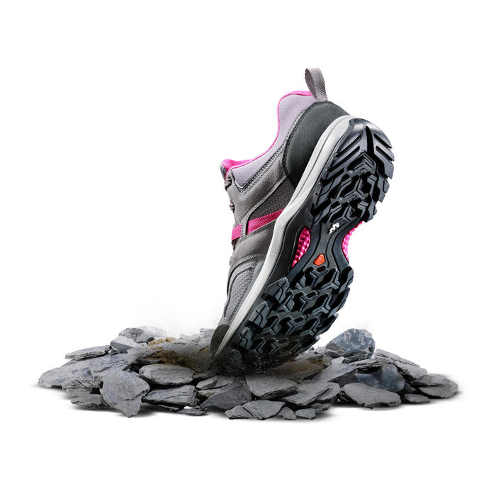 Chaussures de randonnée montagne femme MH100 - 1254760