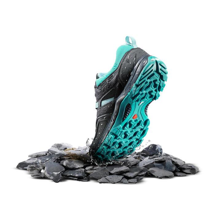 Chaussures de randonnée montagne femme MH100 imperméable - 1254765