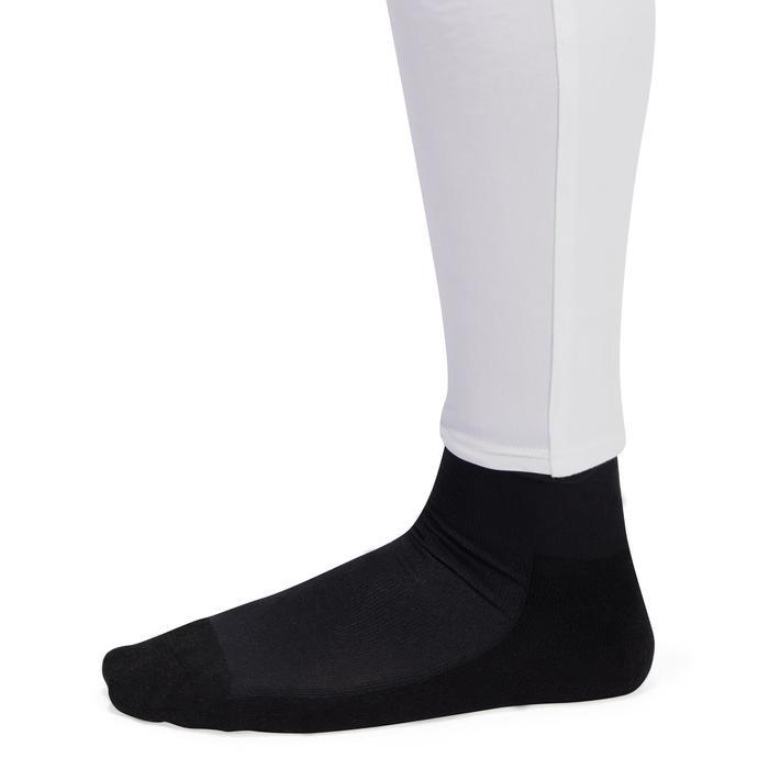 Turnier-Reithose BR140 mit rutschfestem Kniebesatz Herren weiß