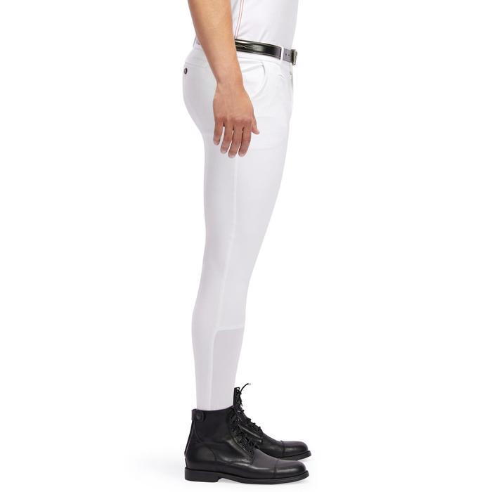 Pantalon Concours équitation homme BR140 basanes agrippantes blanc - 1254880