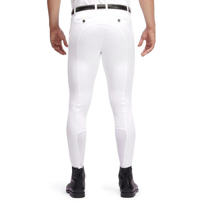 Pantalon Concours équitation homme BR140 basanes agrippantes blanc - 1254882