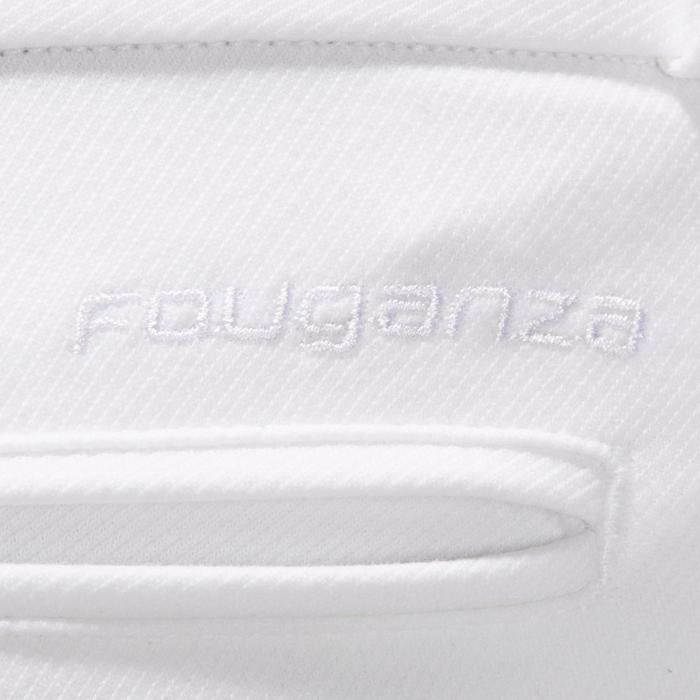 Pantalon Concours équitation homme BR140 basanes agrippantes blanc - 1254886