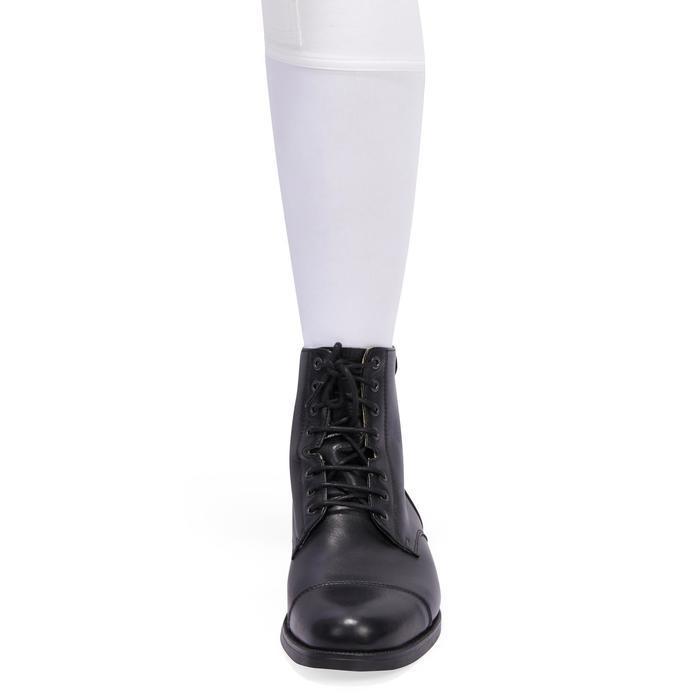 Pantalon Concours équitation homme BR140 basanes agrippantes blanc - 1254889