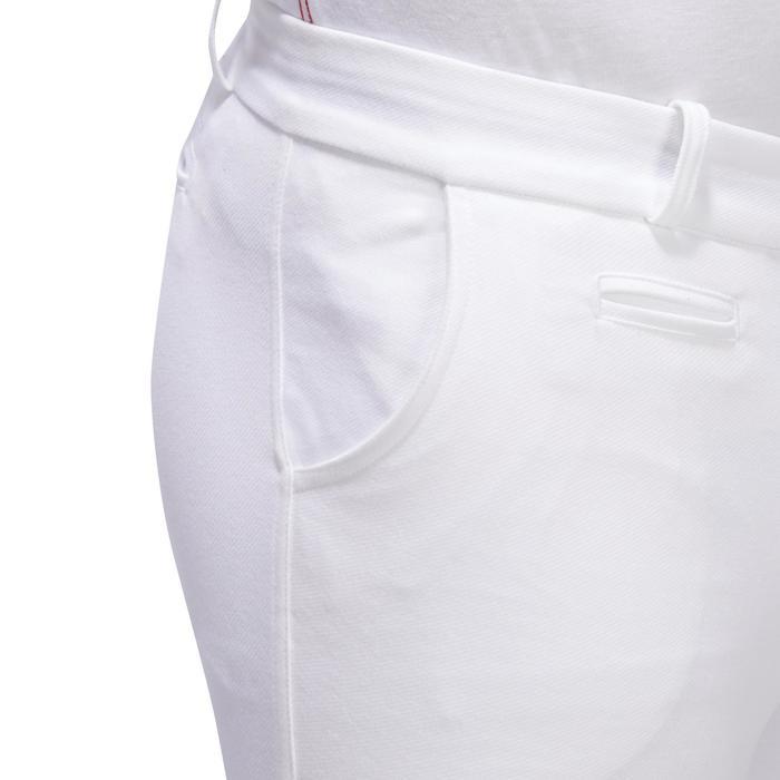 Pantalon Concours équitation homme BR140 basanes agrippantes blanc - 1254895