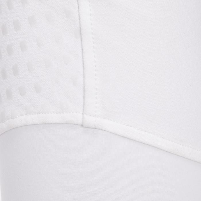 Pantalon Concours équitation femme BR980 fullgrip assise complète silicone blanc - 1254938