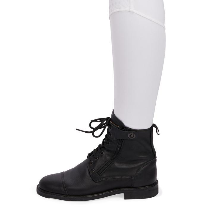 Pantalon Concours équitation femme BR980 fullgrip assise complète silicone blanc - 1254942