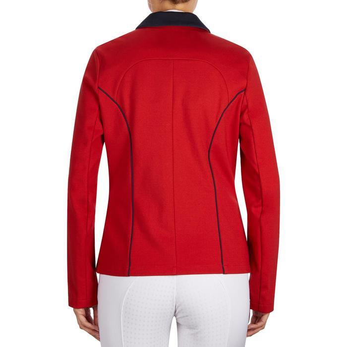 Veste de Concours équitation femme COMP100 bleu roi - 1254977