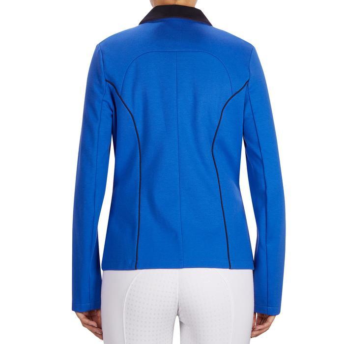 Veste de Concours équitation femme COMP100 bleu roi - 1254978