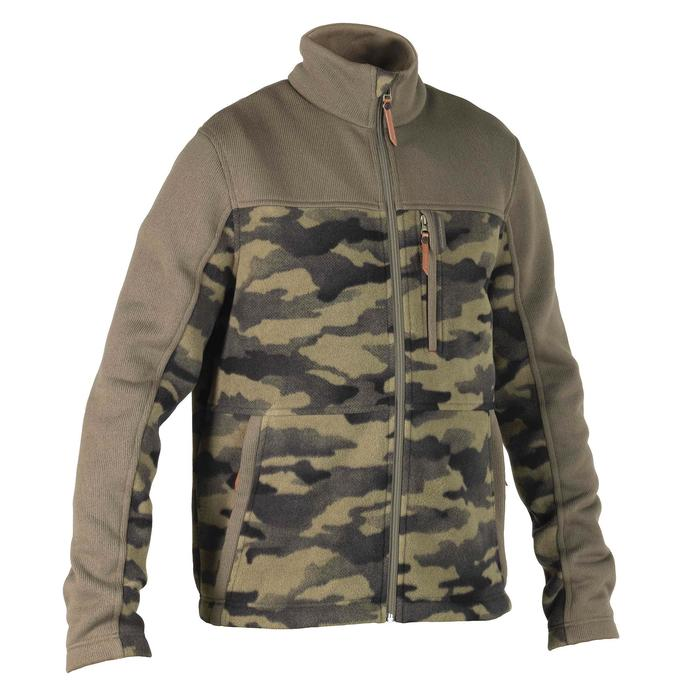 Polaire chasse SG500 camouflage vert