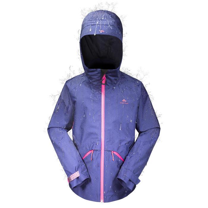 Veste de randonnée enfant MH550 violette