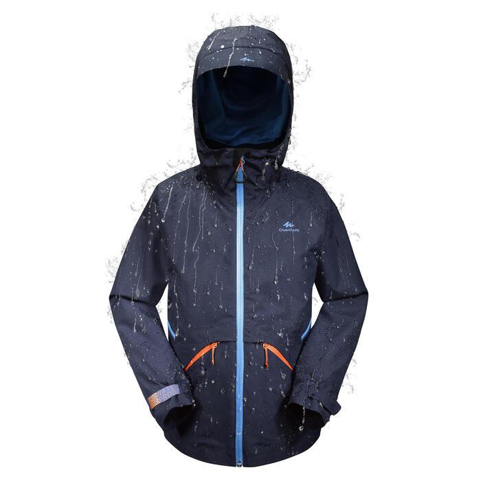 Veste de randonnée enfant Hike 900 bleue - 1255073