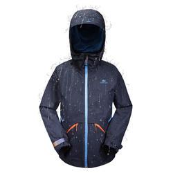 Veste de randonnée enfant Hike 900 bleue