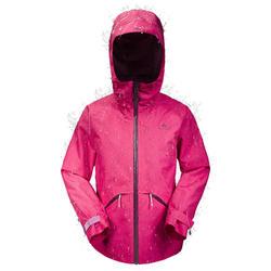 Veste de randonnée enfant MH550 rose