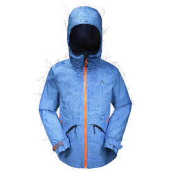 Hike 900 Children's Hiking Jacket - blue