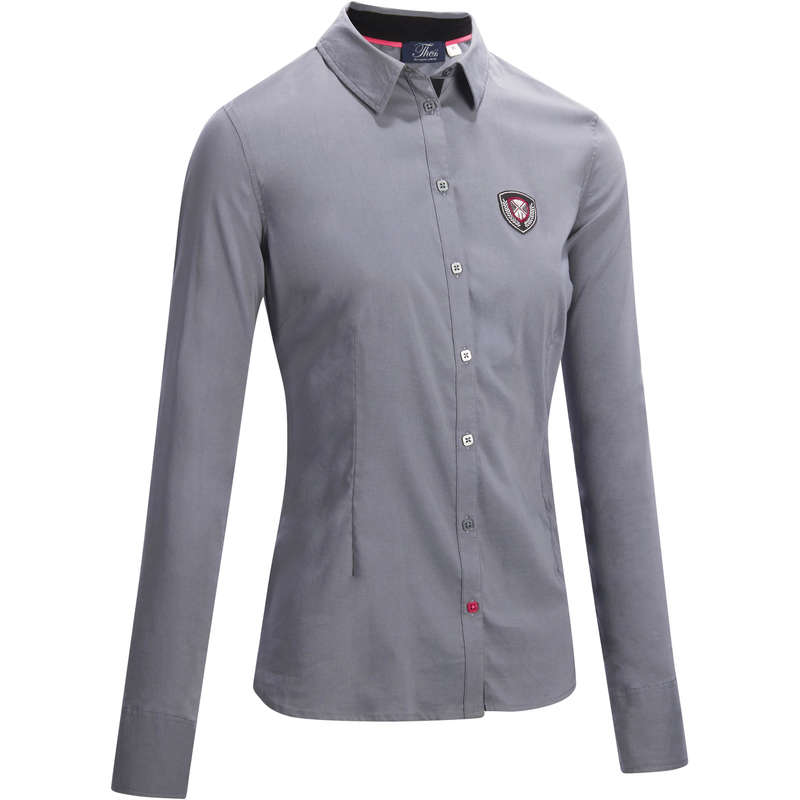 Női ruházat Lovaglás - Női ing Lady 580 OKKSO - Lovaglás - FOUGANZA
