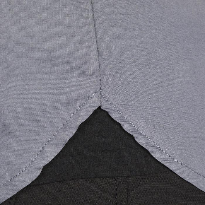 Reitbluse Lady 700 langarm Damen grau
