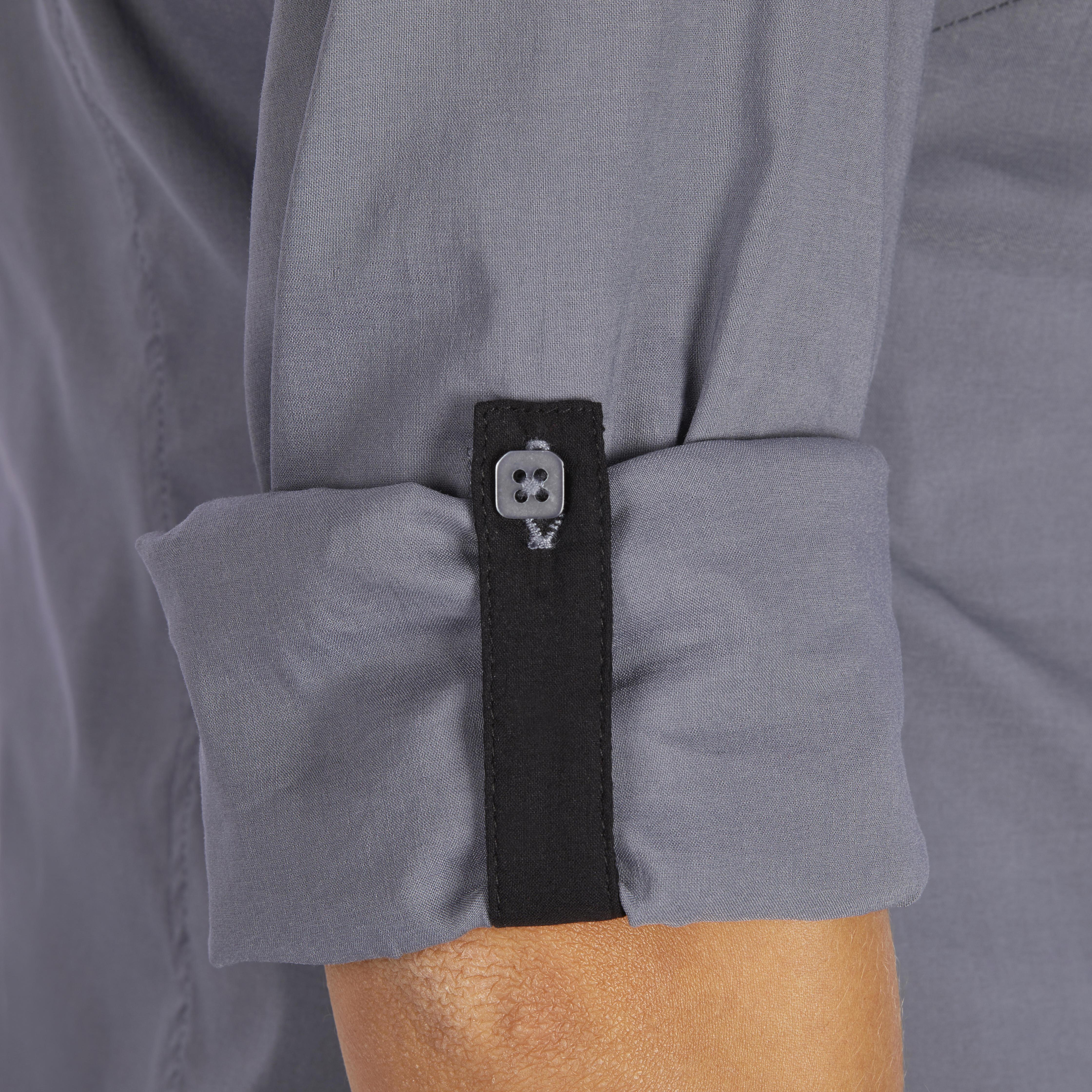 Camisa dama de manga Grey 580 para larga Lady OmN0nwv8
