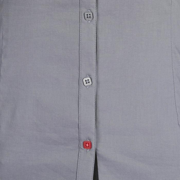 Chemise manches longues équitation femme Lady 700 grise - 1255102