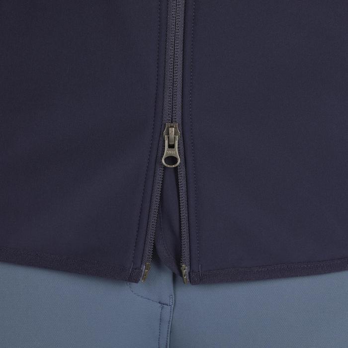 Chaleco equitación mujer GL500 azul marino Fouganza  ee9a32574cc2