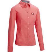 Ženska srajca z dolgimi rokavi za jahanje Lady 700 - roza