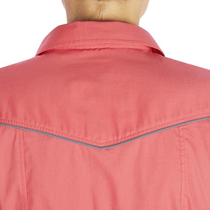 Chemise manches longues équitation femme Lady 700 rose - 1255155