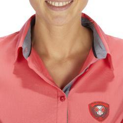 Damesblouse met lange mouwen Lady 700 ruitersport roze