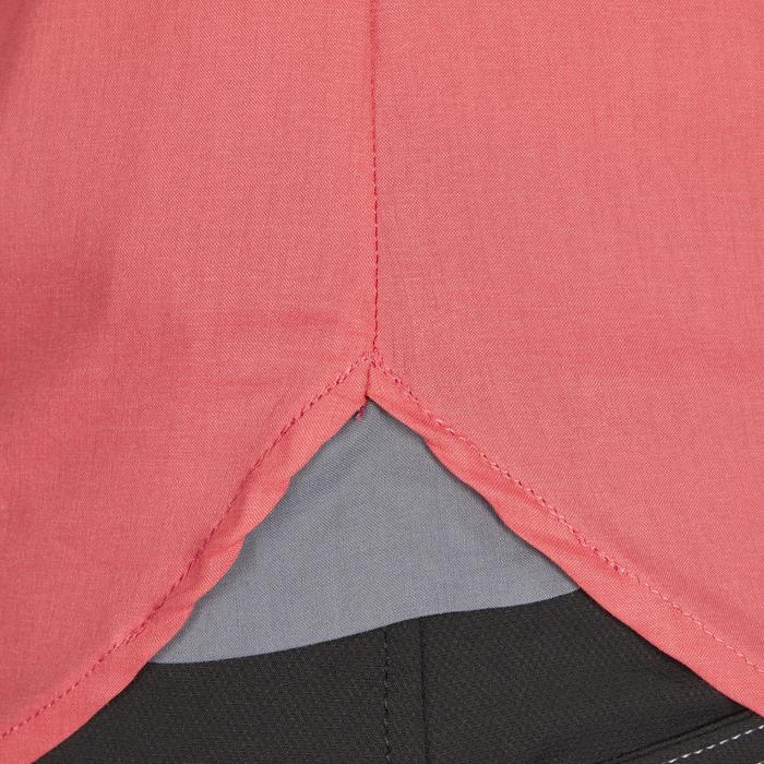 Camisa manga larga equitación mujer LADY 580 rosa