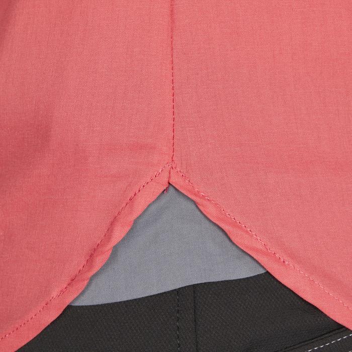 Chemise manches longues équitation femme Lady 700 rose - 1255159