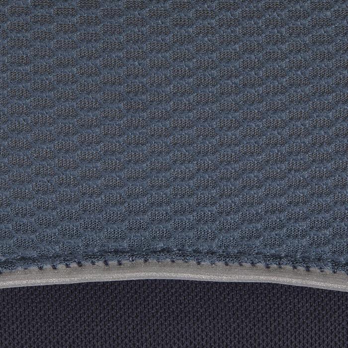 Polo manches courtes équitation femme PL500 MESH bleu marine et - 1255199