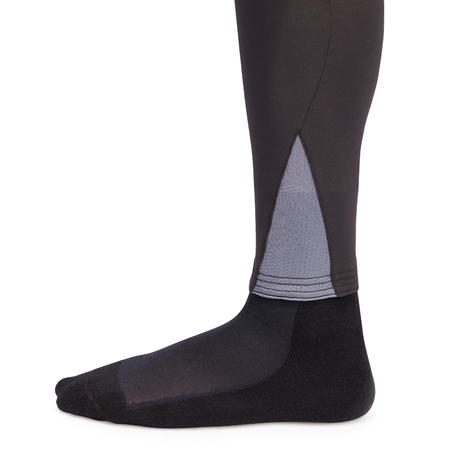 500 Mesh Horse Riding Jodhpurs - Black/Grey