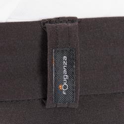 Rijbroek voor heren 500 mesh zwart/grijs