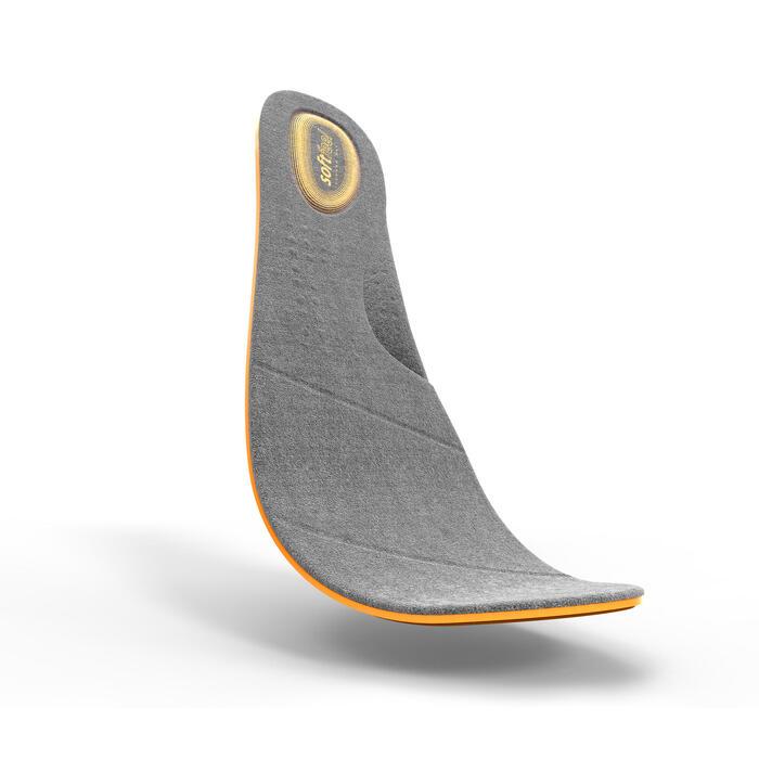 Zapatillas de marcha deportiva para hombre HW 540 piel marrones