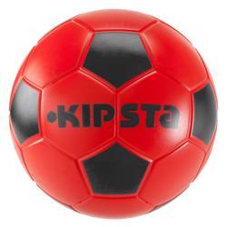 Balón de fútbol sala de espuma Wizzy talla 4 rojo negro