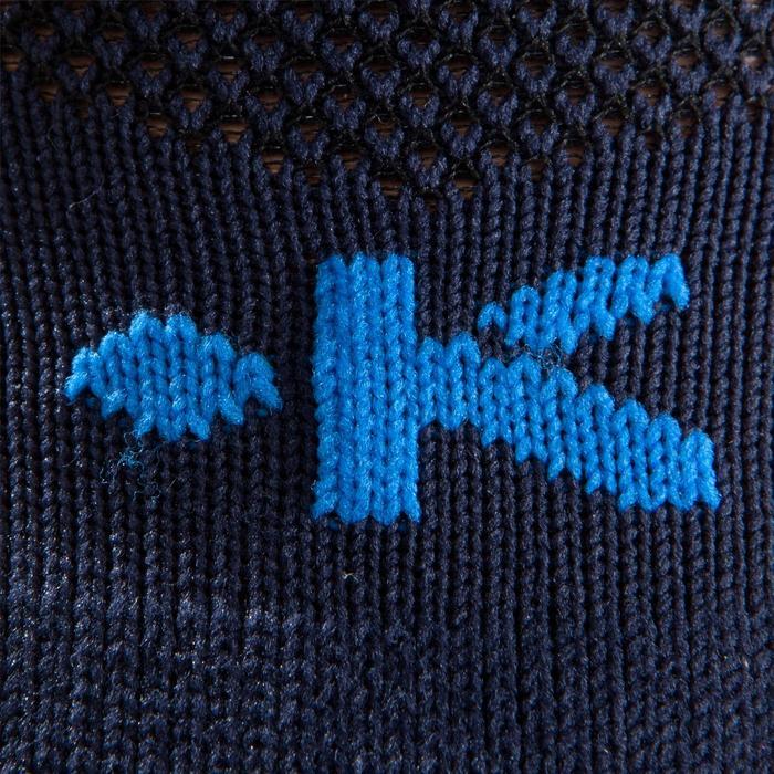 Chaussette football enfant F500 bleue marine