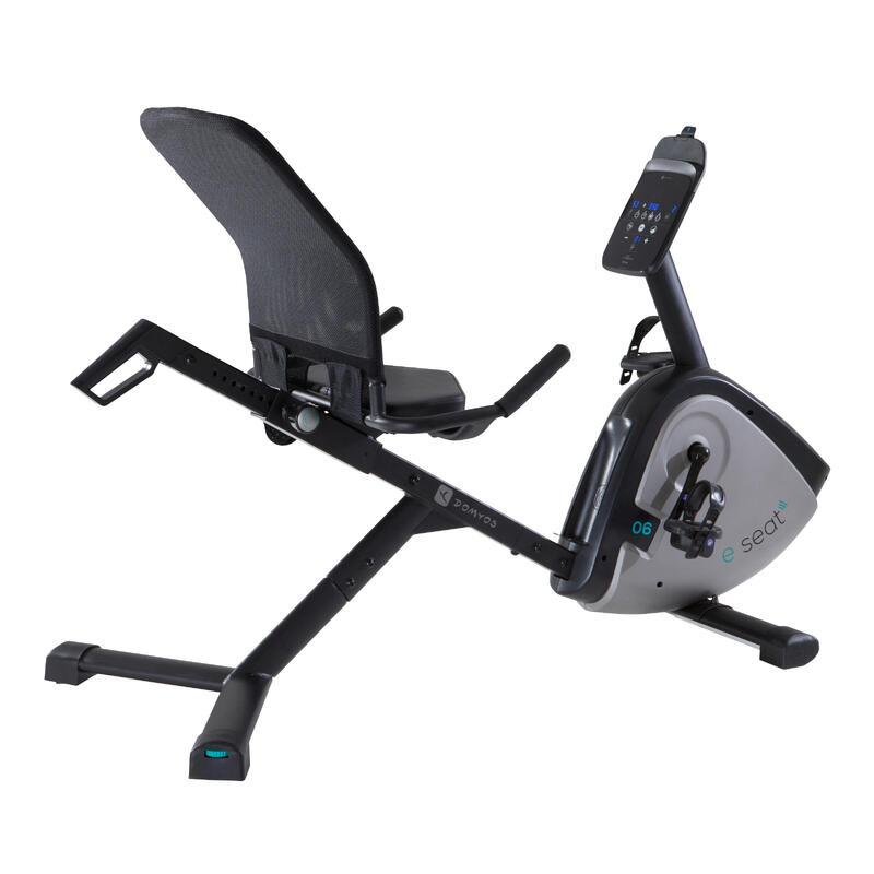 Bicicleta Estática con respaldo Domyos E - Seat