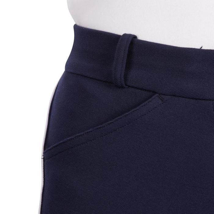 Reithose 140 Rutschfester Kniebesatz Damen marineblau