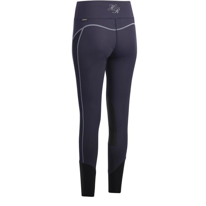 Pantalón equitación mujer BR140 LIGHT Azul marino
