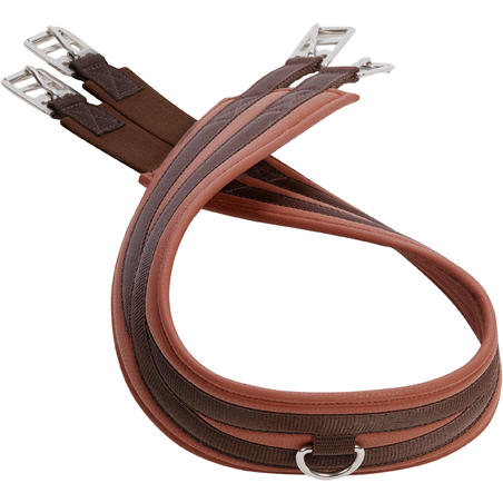 100 Horseback Riding Girth for Horse/Pony - Brown