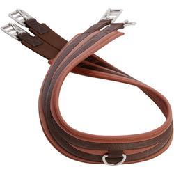 Cincha equitación Fouganza 100 caballo y poni marrón