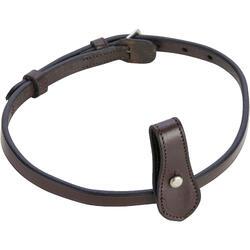 Nose band ruitersport 580 bruin - maat paard