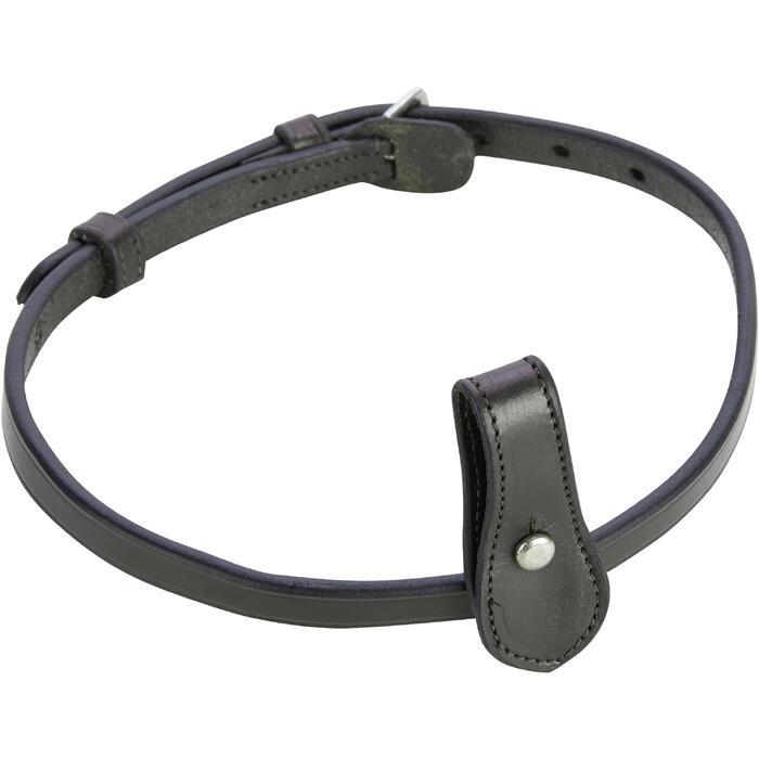 Neusriem ruitersport 580 zwart maat paard
