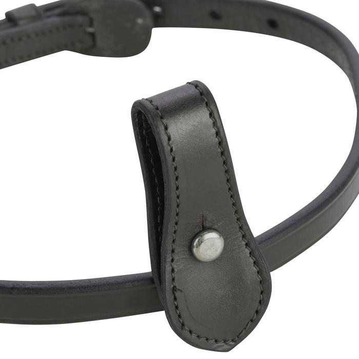Nose band equitación 580 negro - talla caballo