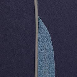 Reithose Training Sommer Damen marineblau/grau